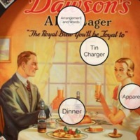 Dawson's Ale Tin Charger - Visual Analysis